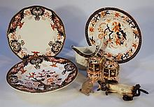 Various Royal Crown Derby and other wares, to include soup bowl of circular form, 26.5cm dia. variou