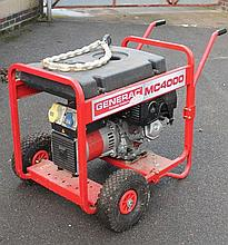A Honda GX240 8.0 MC4000 portable generator, on stand.
