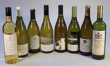 Various white wine, to include Harvey Nichols, Vire-Clesse, Chablis, Santa Julia, 30cm high. (8)