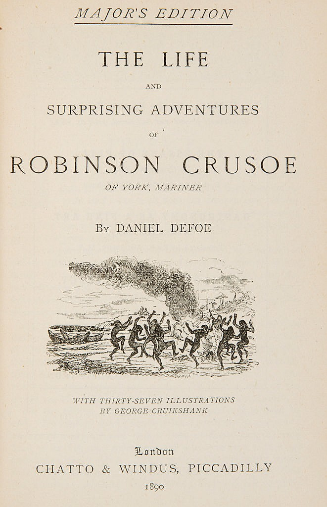 Defoe Daniel - The life and surprising adventures of Robinson Crusoe.