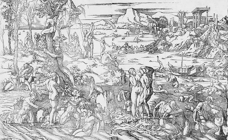 Andreani Andrea - Il diluvio universale