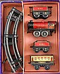 A collection of Hornby O gauge railway engines and accessories,