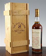 One 70cl bottle of Macallan Anniversary Malt,