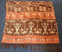 Two East Sumba Hinggi Ikats, Indonesia, first half 20th century, longest 168cm.