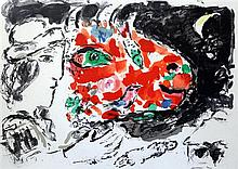 After Marc Chagall (1887-1985) 'After Winter', Paris 1972, 13.5 x 18.25in.