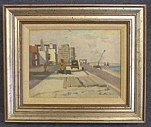 Harry Rutherford (1903-1985) Deal, 5.5 x 7.5in.