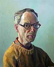 Ian Grant (1904-1993) Self portrait, 24 x 20in.