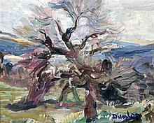 Ronald Ossory Dunlop (1874-1973) Woodland scene,