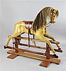 A Haddon 20th century rocking horse, 5ft long