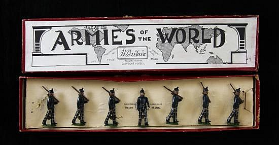 A set of Britains Cameronians, no.1913,
