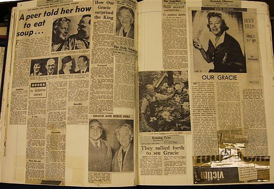 GRACIE FIELDS: A collection of sheet music,