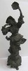 19th C. Spelter figure of gypsy