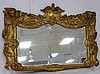 Ea. C1830 Carved giltwood wall mirror