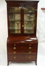 Regency Mahogany Bureau Bookcase Circa 1800