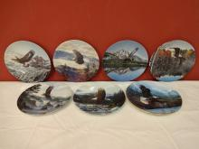 Lot of 7 W. S. George Decorative Plates