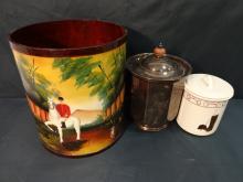 Lot of 3 Decorative Items