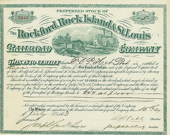 Rockford, Rock Island & St. Louis Railroad