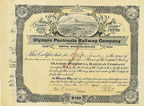 Olympic Peninsula Railway Company