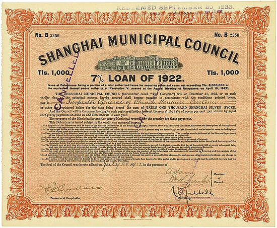Shanghai Municipal Council