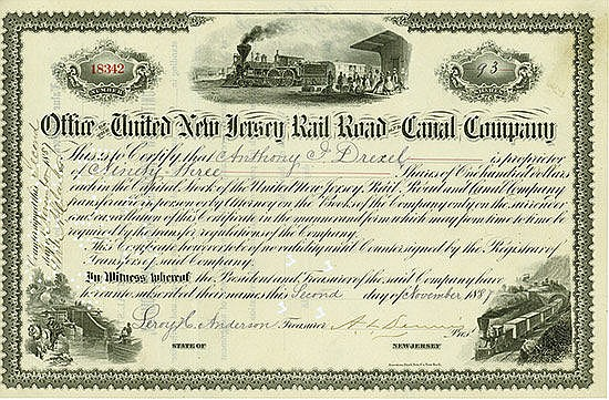 United New Jersey Rail Road and Canal Company