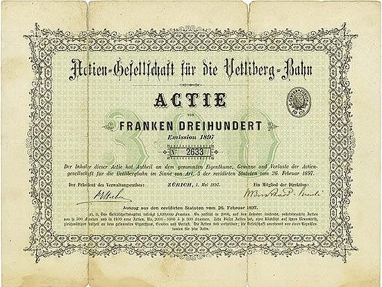 Actien-Gesellschaft für die Uetliberg-Bahn