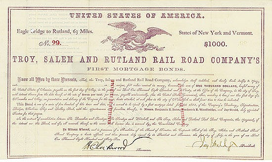 Troy, Salem and Rutland Rail Road Company