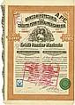 Banco Hipotecario de Crédito Territorial Mexicano, S. A. / Credit Foncier Mexicain [4 Stück]