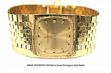 14K Men's Girard Perregaux Gold Watch