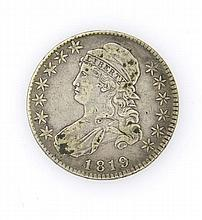 1819 Bust Half Dollar 50 Cents Silver US Coin