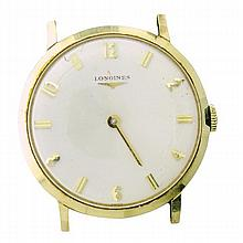 Longines 14k Gold Manual Wind Watch cal 528