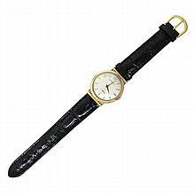 Whittnauer 18k Gold Fancy Lugs Manual Watch