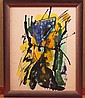 Joseph Meierhans (1890-1981), Abstract Watercolor Painting
