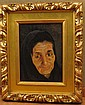 Martha Walter (1875 -  1976), Woman's Portrait,Oil on Canvas