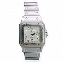Cartier Santos Stainless Steel Watch