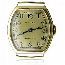 1920s Tiffany & Co 18k Gold Watch