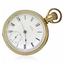 Waltham Hunter Case Gold Filled Pocket Watch