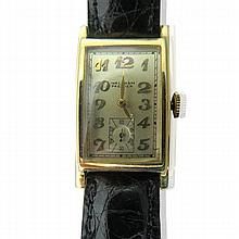 Waltham 14k Gold Premier Watch