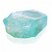 Angela Carrubba Pintaldi Free Form Aquamarine Ring