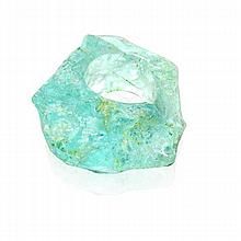 Angela Carrubba Pintaldi Free Form Aquamarine Nugget Ring