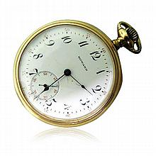 Howard Watch Co. Boston Gold Filled Pocket Watch