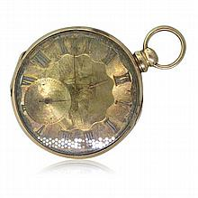 Tobias 18k Gold Antique Pocket Watch