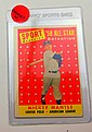 1958 TOPPS #487 MICKEY MANTLE ALL STAR