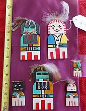Hopi Child's Kachina Dolls