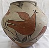 Zia Bird Pot