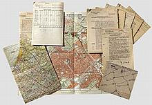 LUFTWAFFE - Geheime Kommandosache (secret command document) - documentation relating to the paratrooper mission (Luftlandeverband Student) to seize the