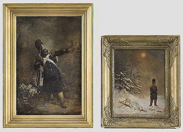 FRANKREICH 1. KAISERREICH: Nicolas-Toussaint Charlet (1792 - 1845) - Grenadier zu Fuß der Garde Impériale
