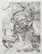 Red Grooms, (American, b. 1937), Manet/Romance, 1976