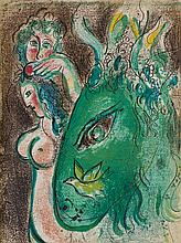 * CHAGALL, MARC. Drawings for the Bible. New York, (1960). First American edition. Complete with 24 original color lithos.
