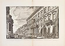 * (PIRANESI, GIOVANNI BATTISTA) YOUNG, WILLIAM, ed. Roman Architecture...[London], [1900].