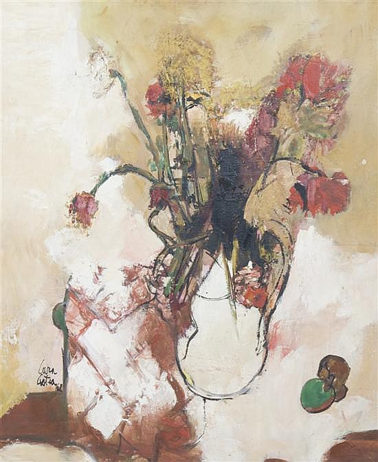 Philippe Cara-Costea, (French, b. 1925), Still Life